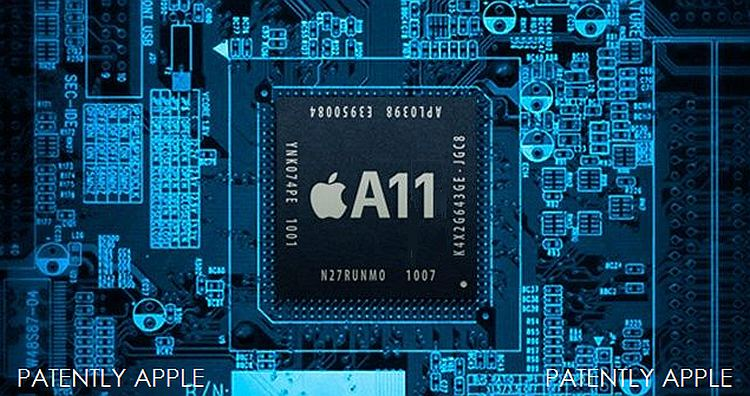 Apple iPhone 8 A11 processor chip