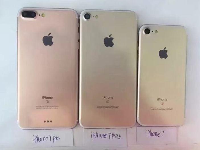 iPhone 7 Pro and Plus leak back photo