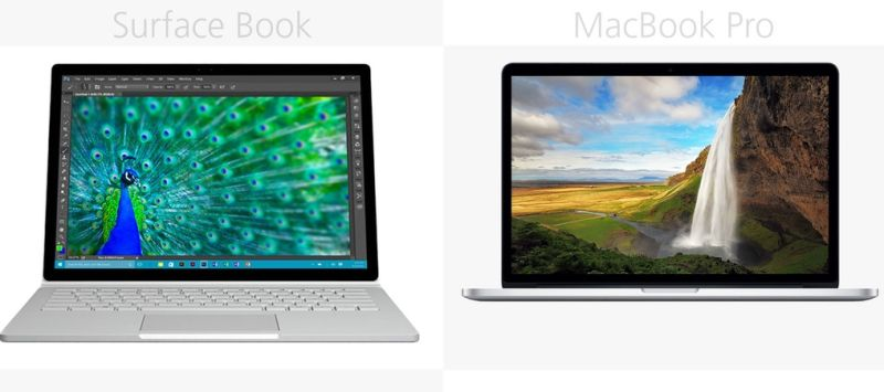 macbook surface book