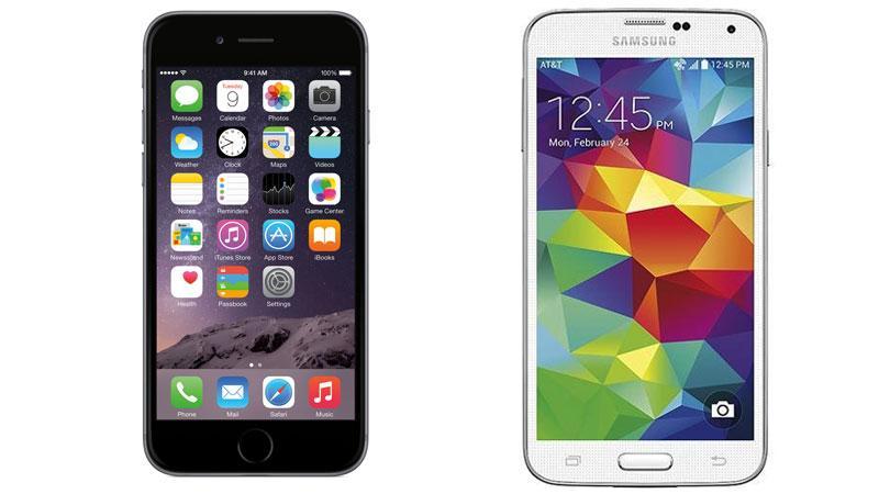 iPhone 6 Galaxy S5