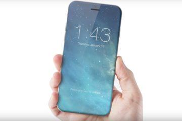 iPhone 8 concept 2017