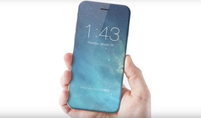 iPhone 8 concept 2017