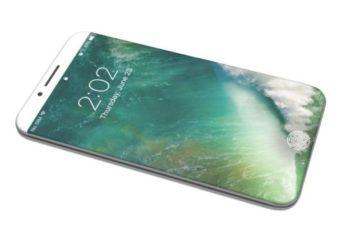 iPhone X concept iPhone 8 OLED