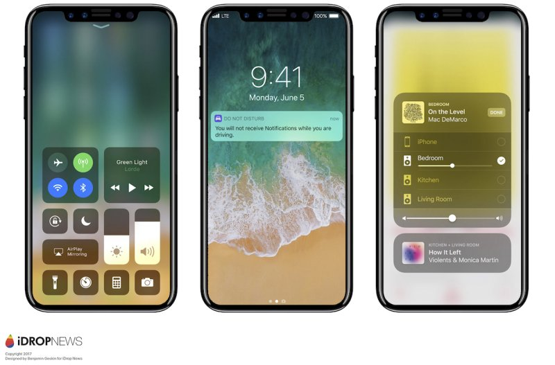 iphone 8 ios 11 renders