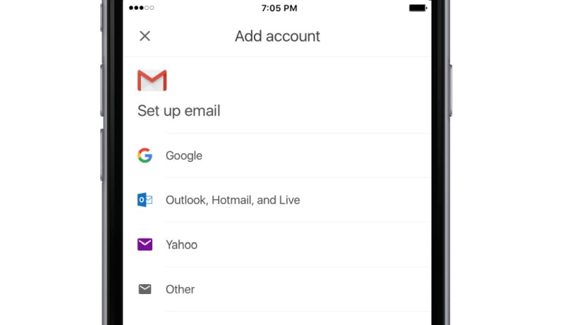 Gmail for iOS may soon open to third-party email accounts