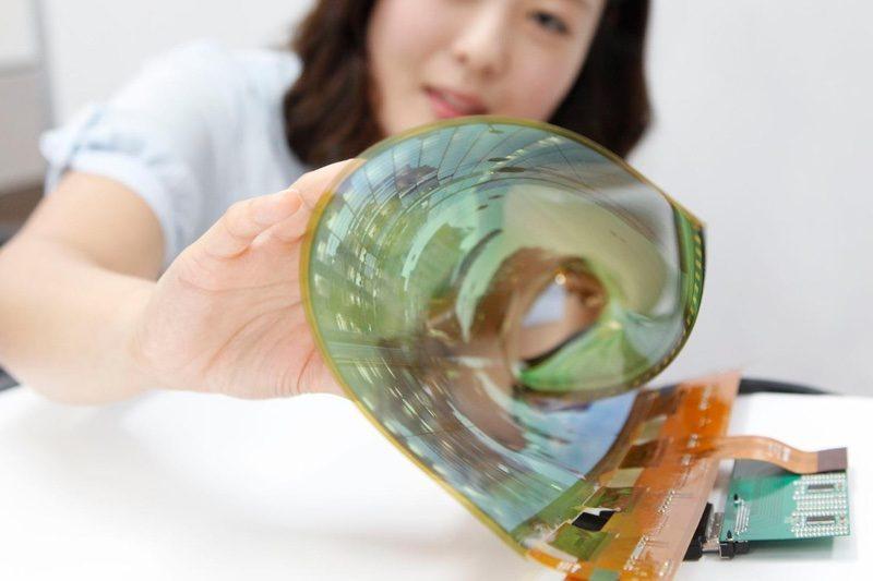 foldable display LG iPhone