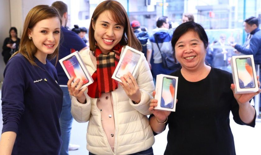 Apple Store Australia iPhone X