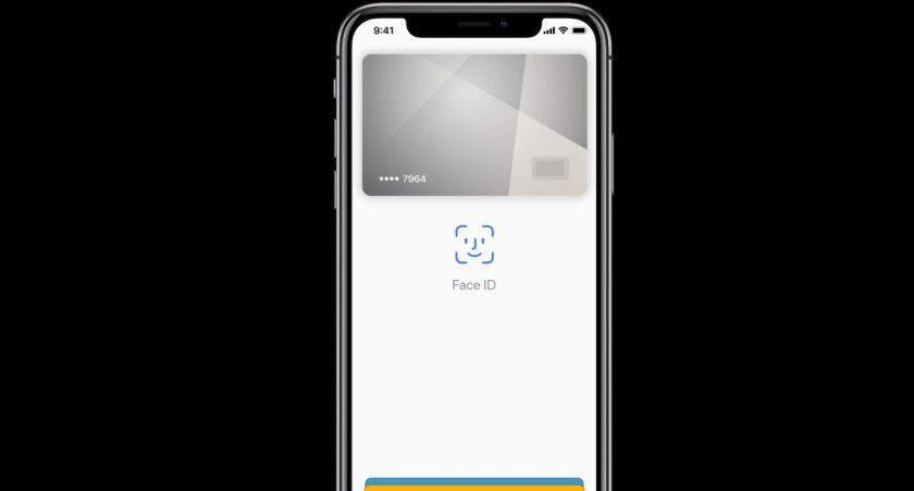 face id apple pay