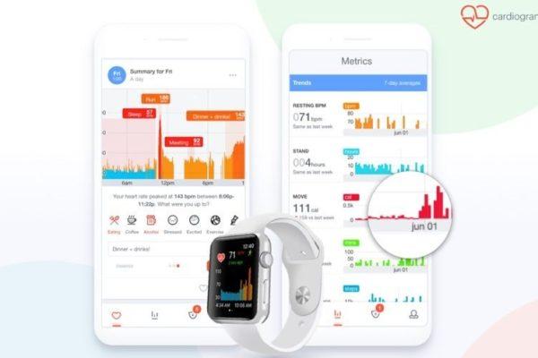 Cardiogram app for iOS