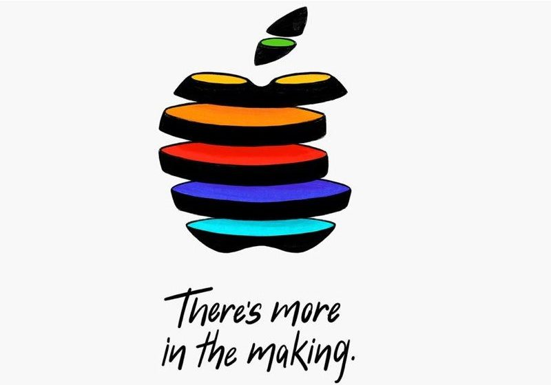 Apple Logo Press event October 30