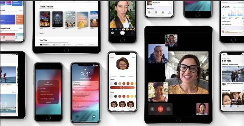 iOS 12 Banner