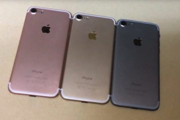 iPhone 7 line up