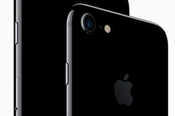iPhone 7 black jet