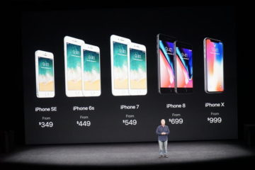 Apple iPhone line up 2017