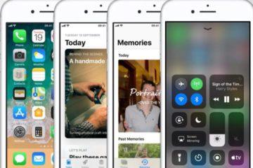 iOS 11 apple iPhone 11.0.2