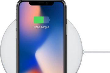 wireless charging iPhone X Qi