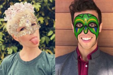 Snapchat introduces live AR lenses for iPhone X.