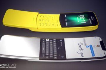Nokia 8110 iPhone curve