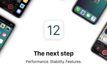 iOS 12 logo