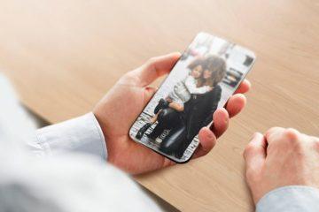 iPhone no bezel